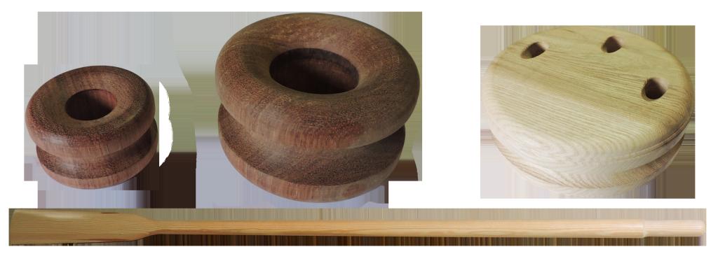 accastillage en bois pour bateau